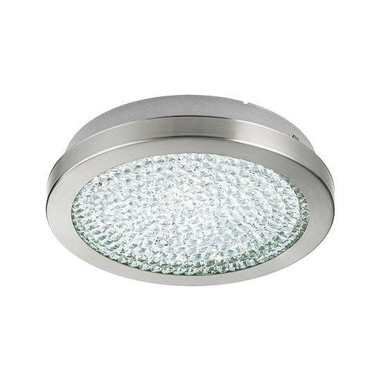 Eglo Arezzo 2 LED 11 inch Matte Nickel Flush MountCeiling Light