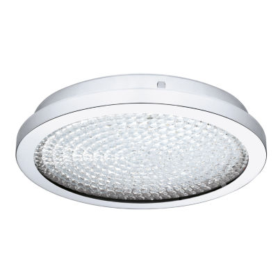 Eglo Arezzo 2 LED 14 inch Chrome Flush Mount Ceiling Light