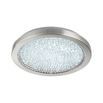 Eglo Arezzo 2 LED 14 inch Matte Nickel Flush MountCeiling Light