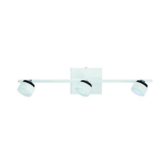 Eglo Armento 3-Light 120V White & Black Track Light Ceiling Light