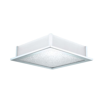 Eglo Auriga Crystal 5 Light 15 inch Chrome Ceiling Light.