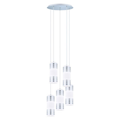 Eglo Bayman 5 Light 20 inch Chrome Pendant CeilingLight