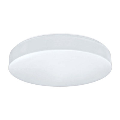 Eglo Beramo LED inch White Flush Mount Ceiling Light