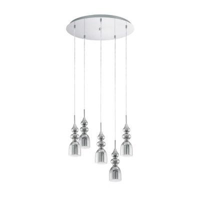 Eglo Bolanos LED 20 inch Chrome Cascade Pendant Ceiling Light