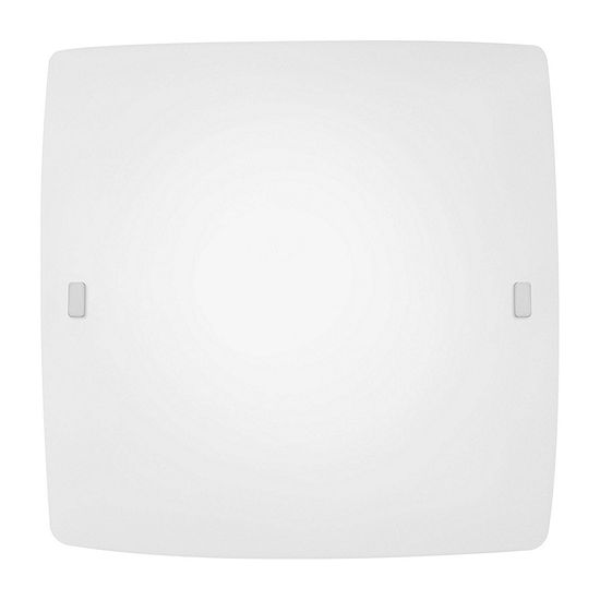 Eglo Borgo 2-Light 16 inch Matte Nickel Wall Light