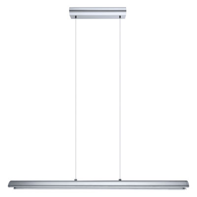 Eglo Carlazzo LED 37 inch Chrome Linear Pendant Ceiling Light