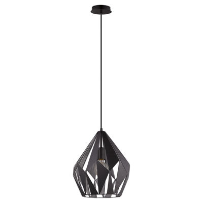 Eglo Carlton I 1-Light 12 inch Pendant Ceiling Light