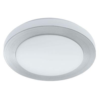 Eglo Carpi LED Brushed Aluminum Flush Mount Ceiling Light