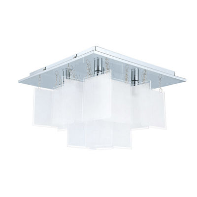 Eglo Condrata (1) 5 Light 15 inch Chrome Ceiling Light