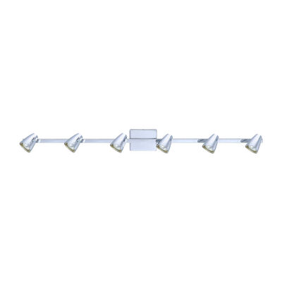 Eglo Corbera 6 Light 120V Chrome Track Ceiling Light