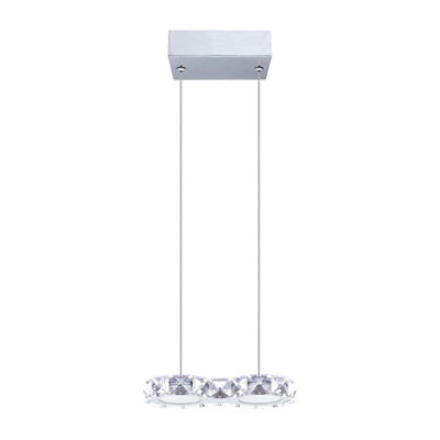 Eglo Corliano LED 4 inch Chrome Pendant Ceiling Light