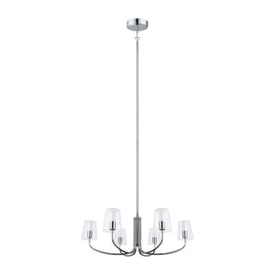 Eglo Noventa LED 29 inch Chrome Chandelier CeilingLight