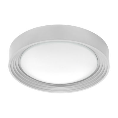 Eglo Ontaneda I LED 13 inch Silver Flush Mount Ceiling Light