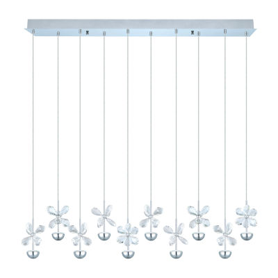 Eglo Pianopoli LED 5 inch Chrome Multi Light Pendant Ceiling Light