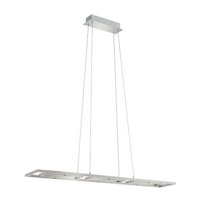 Eglo Tamasera LED 8 inch Matte Nickel Pendant Ceiling Light
