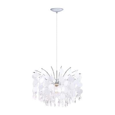 Eglo Fedra 1-Light 1 inch Chrome Chandelier Ceiling Light