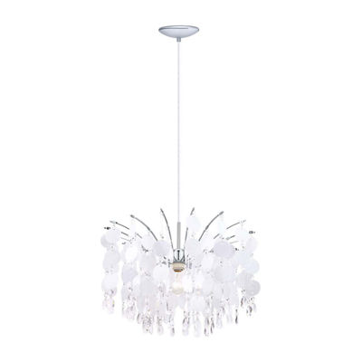 Eglo Fedra 1-Light 1 inch Chrome Chandelier Ceiling Light