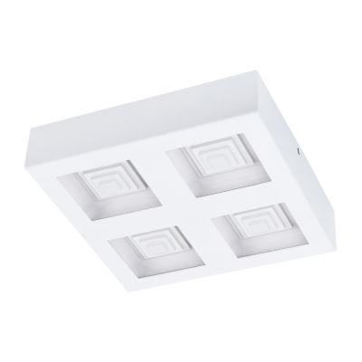 Eglo Ferreros LED 11 inch White Flush Mount Ceiling Light