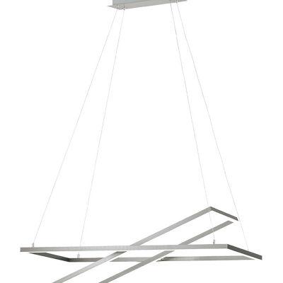 Eglo Tamasera LED 16 inch Matte Nickel Pendant Ceiling Light