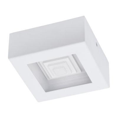 Eglo Ferreros LED 6 inch White Flush Mount CeilingLight