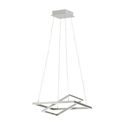 Eglo Tamasera LED 16 inch Matte Nickel Pendant Ceiling Light