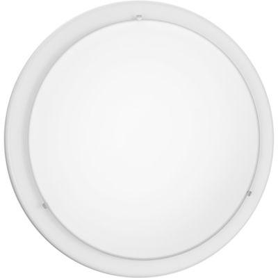 Eglo Planet 2-Light 15 inch White Ceiling Light