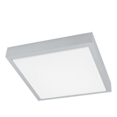 Eglo Idun LED 11 inch Brushed Aluminum Flush MountSquare Ceiling Light