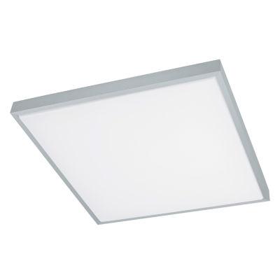 Eglo Idun LED 23 inch Brushed Aluminum Flush MountSquare Ceiling Light