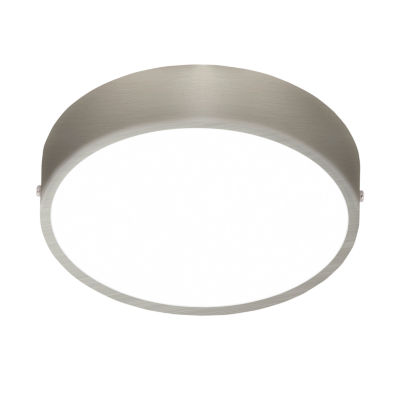 Eglo Fueva I LED 12 inch Matte Nickel Flush Mount Ceiling Light
