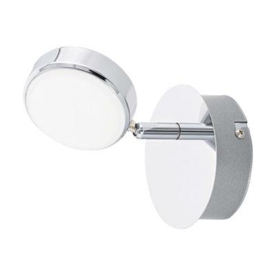 Eglo Salto LED Chrome Wall Light