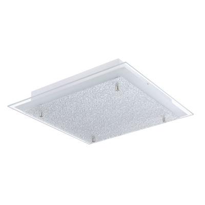 Eglo Priola LED Matte Nickel Flush Mount Ceiling Light