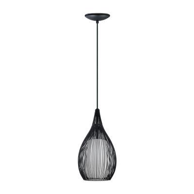 Eglo Razoni 1-Light 8 inch Mini Pendant Ceiling Light
