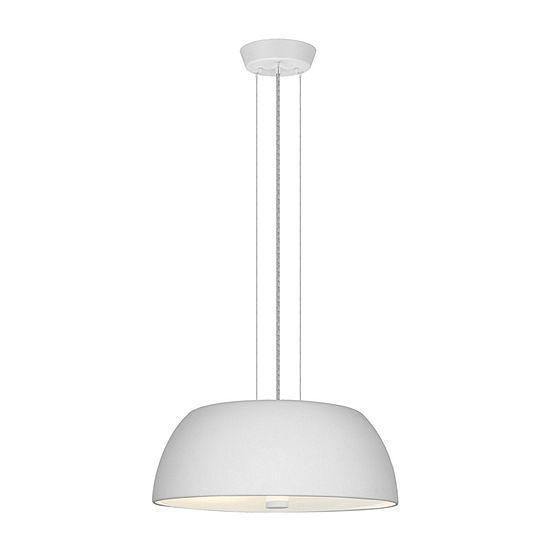 Eglo Ryan 2-Light 16 inch White Pendant Ceiling Light