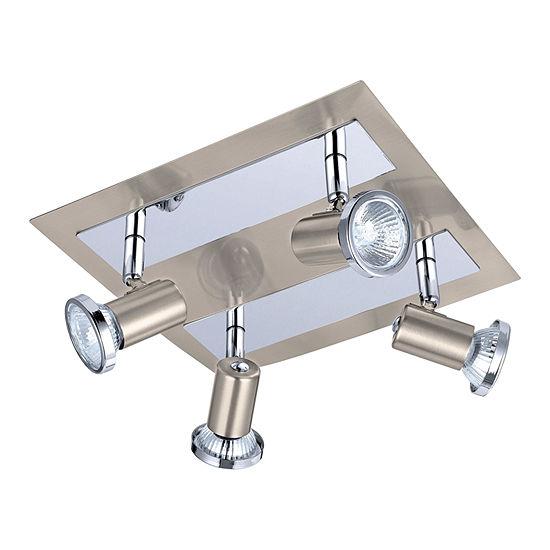 Eglo Rottelo Matte Nickel Chrome 50 Watt 4 Spot Light
