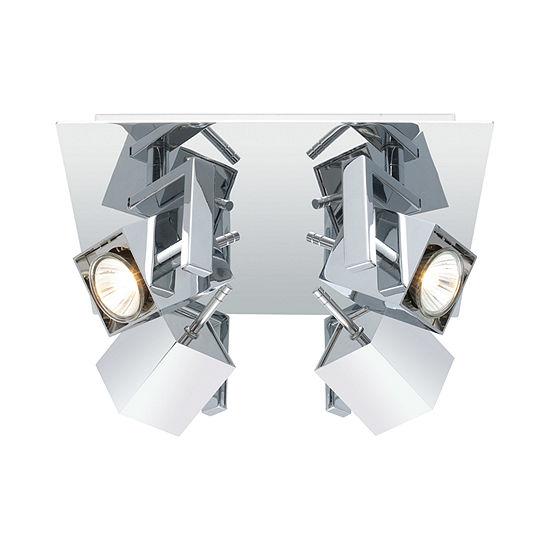 Eglo Manao Chrome 35 watt 4-Light Spot Light