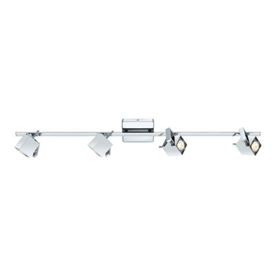 Eglo Manao 4-Light 120V Chrome Track Lighting Ceiling Light
