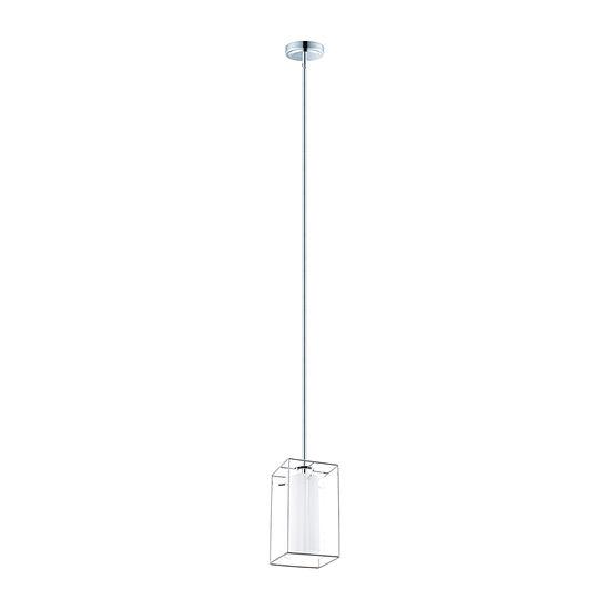 Eglo Loncino I 1-Light 6 inch Chrome Mini Pendant Ceiling Light