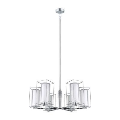 Eglo Loncino I 6 Light 33 inch Chrome Chandelier Ceiling Light