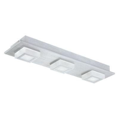 Eglo Masiano LED 5 inch Brushed Aluminum Flush Mount Ceiling Light