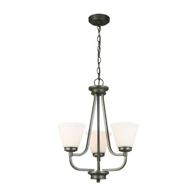 Eglo Mayview 3-Light 19 inch Chandelier Ceiling Light