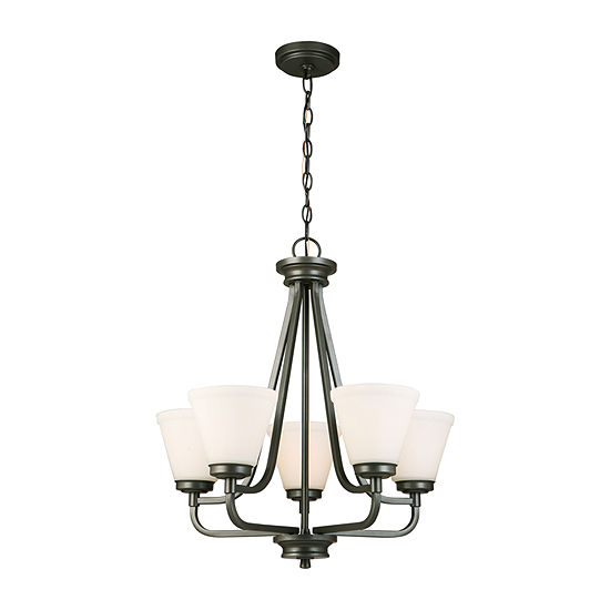 Eglo Mayview 5 Light 23 inch Chandelier Ceiling Light