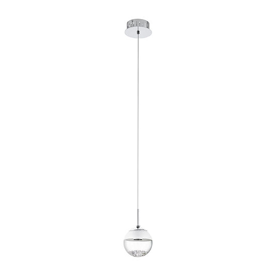 Eglo Montefio LED 5 inch Chrome Mini Pendant Ceiling Light
