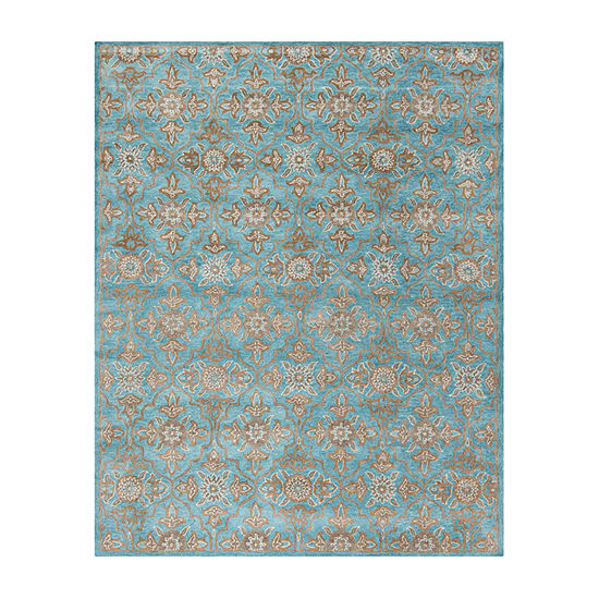 Safavieh Heritage Collection Merrill Damask Area Rug