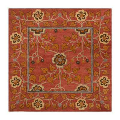 Safavieh Heritage Collection Summer Oriental Square Area Rug