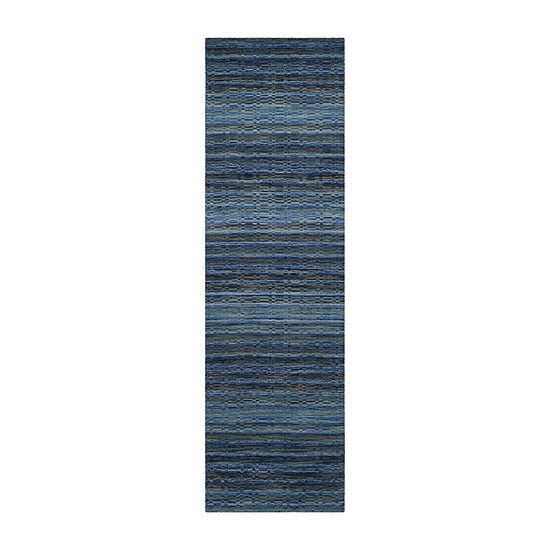 Safavieh Himalaya Collection Altan Striped Runner Rug