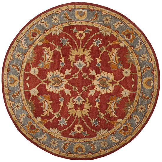 Safavieh Heritage Collection Noelle Oriental Round Area Rug