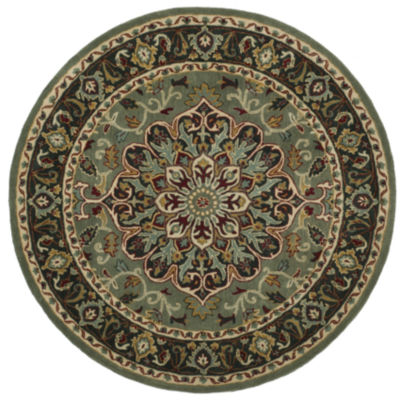 Safavieh Heritage Collection Raeburn Oriental Round Area Rug