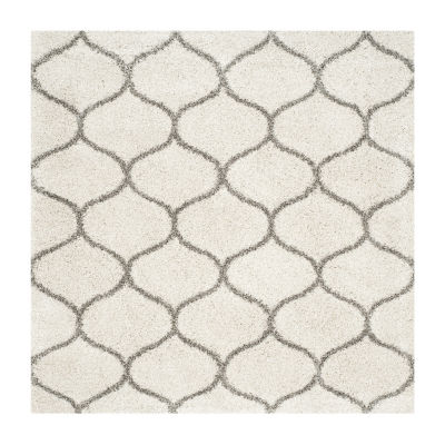 Safavieh Hudson Shag Collection Maria Geometric Square Area Rug