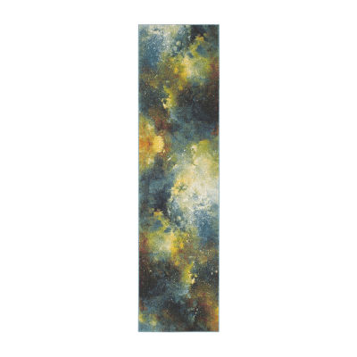 Safavieh Galaxy Collection Zoe Geometric Runner Rug