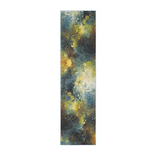 Safavieh Galaxy Collection Zoe Geometric Runner Rug